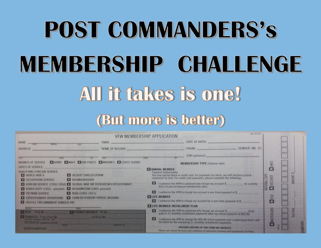 Commanders Challenge
